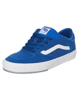 BLUE MENS FOOTWEAR VANS SNEAKERS - VNA4BTTXK3