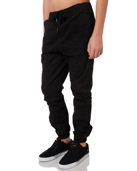 BLACK KIDS BOYS SWELL PANTS - S3164191BLACK
