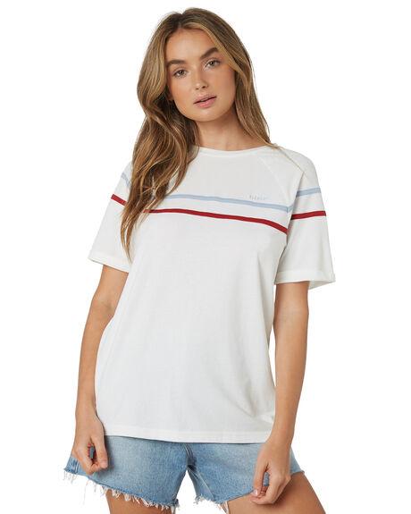WHITE WOMENS CLOTHING ELEMENT TEES - 284104WHT