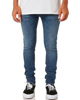 DARK BLUE NAVY MENS CLOTHING NUDIE JEANS CO JEANS - 113169DBN
