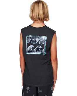 BLACK KIDS BOYS BILLABONG TOPS - BB-8592505-BLK