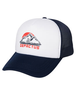 NAVY MENS ACCESSORIES DEPACTUS HEADWEAR - D51941612NAVY