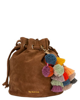 COGNAC WOMENS ACCESSORIES THE WOLF GANG BAGS + BACKPACKS - TWGW19A07COGN