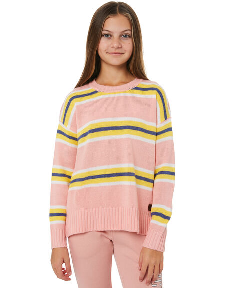 CORAL KIDS GIRLS RIP CURL JUMPERS + JACKETS - JSWAM10026
