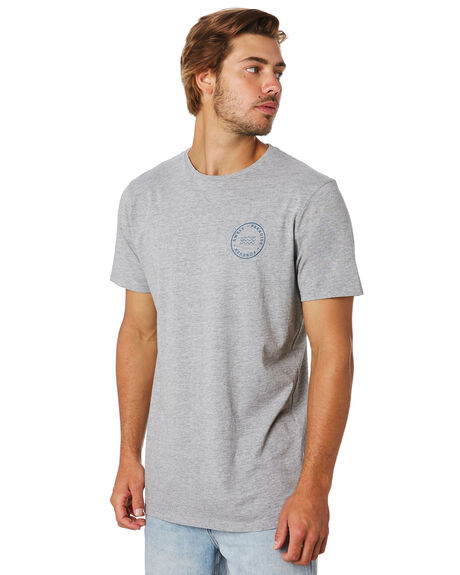 GREY MARLE MENS CLOTHING SWELL TEES - S5202004GRYML