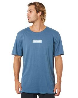 STORM ARMORY BLUE MENS CLOTHING HURLEY TEES - AJ1777471