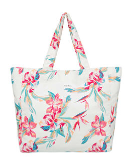 BRIGHT WHITE TROPIC WOMENS ACCESSORIES ROXY BAGS + BACKPACKS - ERJBT03167-WBB7