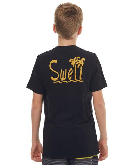 BLACK KIDS BOYS SWELL TEES - S3171002BLK