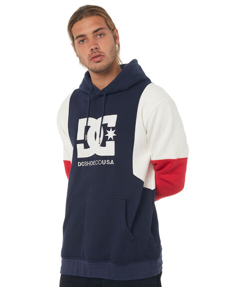 DARK INDIGO MENS CLOTHING DC SHOES JUMPERS - EDYFT03352BYJ0