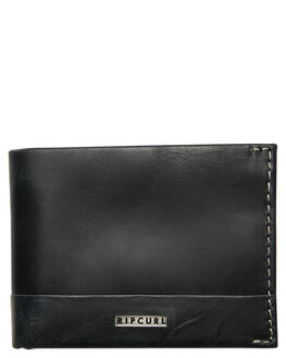 BLACK MENS ACCESSORIES RIP CURL WALLETS - BWLLX10090