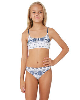 WHITE KIDS GIRLS RIP CURL SWIMWEAR - JSIDP11000