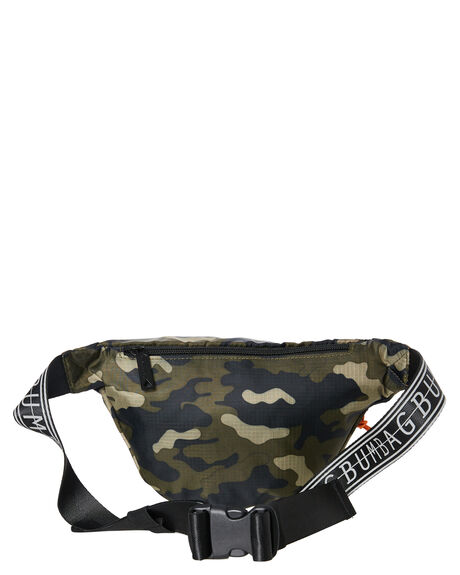 CAMO MENS ACCESSORIES THE BUMBAG CO BAGS + BACKPACKS - BB041CAMO