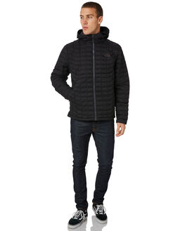 BLACK MENS CLOTHING THE NORTH FACE JACKETS - NF0A39NFXYM
