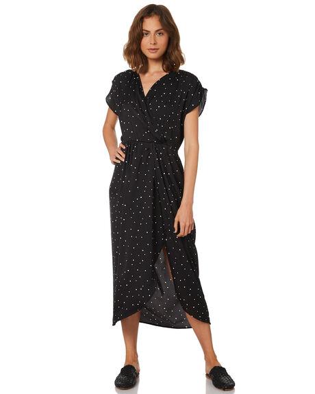 SPLATTER PRINT WOMENS CLOTHING SASS DRESSES - 12941DWSSMULTI