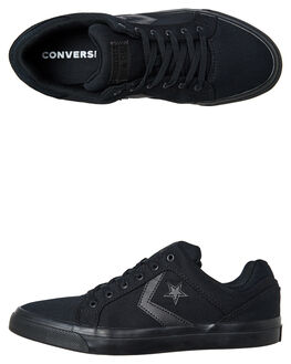 BLACK BLACK MENS FOOTWEAR CONVERSE SNEAKERS - 159786BKBK