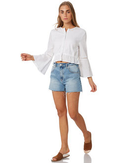 WHITE OUT WOMENS CLOTHING O'NEILL FASHION TOPS - 5421202WHI