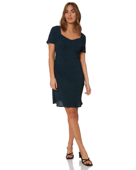 ROYAL BLUE WOMENS CLOTHING THRILLS DRESSES - WTH21-902ERBLU