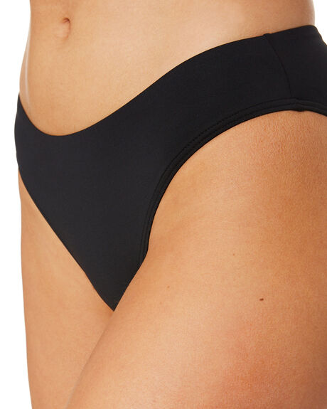BLACK WOMENS SWIMWEAR SEA LEVEL AUSTRALIA BIKINI BOTTOMS - SL4015PBLK