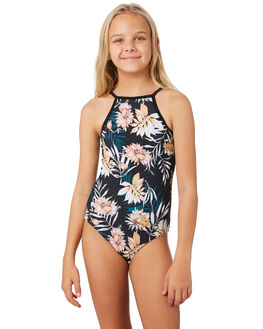 BLACK KIDS GIRLS RIP CURL SWIMWEAR - JSIEC10090