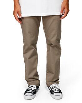 DARK KHAKI MENS CLOTHING BILLABONG PANTS - BB-9581307-DKK