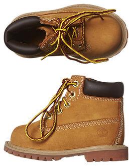 WHEAT KIDS BOYS TIMBERLAND FOOTWEAR - 12809WHEA