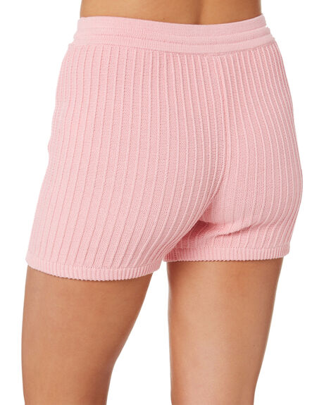 PINK WOMENS CLOTHING RUE STIIC SHORTS - SW-20-K-15-PPNK