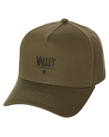 OLIVE MENS ACCESSORIES VALLEY HEADWEAR - S0551OLV