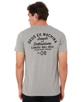 GREY MARLE MENS CLOTHING DEUS EX MACHINA TEES - DMS41065CGRYML