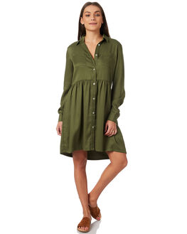 KHAKI WOMENS CLOTHING SWELL DRESSES - S8183449KHAKI