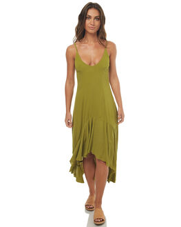 FERN WOMENS CLOTHING SOMEDAYS LOVIN DRESSES - SL1704550GREEN