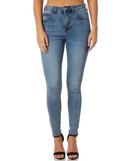 YONDER BLUE WASH WOMENS CLOTHING DR DENIM JEANS - 1830102-H02