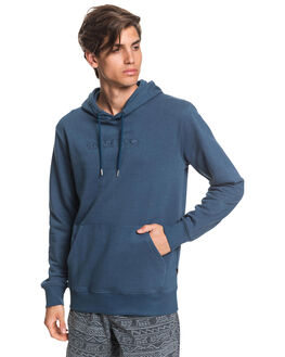 MAJOLICA BLUE MENS CLOTHING QUIKSILVER JUMPERS - EQYFT04159-BSM0