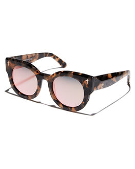 PEACH TORT WOMENS ACCESSORIES VALLEY SUNGLASSES - S0322PCHTR