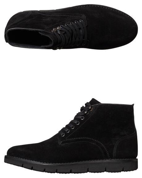 BLACK MENS FOOTWEAR URGE BOOTS - URG16170BLK