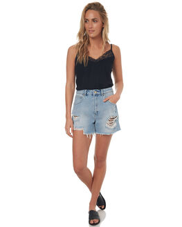 DEL RAY WOMENS CLOTHING A.BRAND SHORTS - 710242644