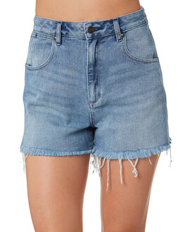 BANG BANG BLUE WOMENS CLOTHING WRANGLER SHORTS - W-951344-KU1