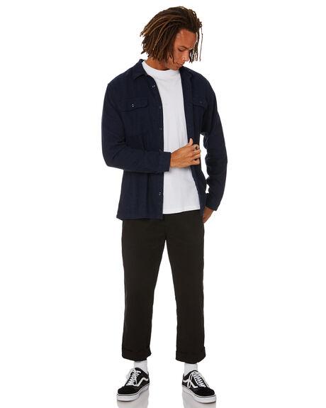 NAVY BLUE MENS CLOTHING PATAGONIA SHIRTS - 53947NVYB