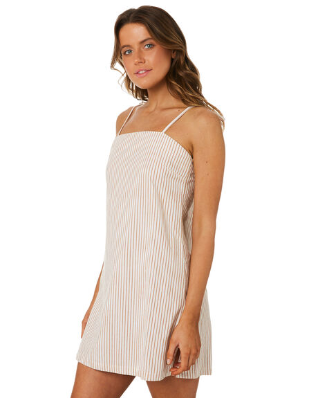 WHITE BROWN OUTLET WOMENS RIP CURL DRESSES - GDRHF11196