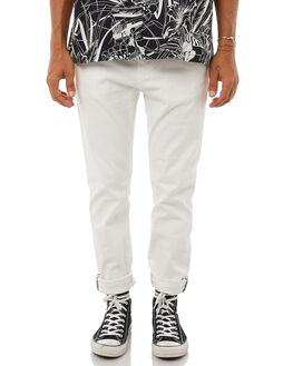 WINTER WHITE MENS CLOTHING ACADEMY BRAND PANTS - 18W109WIWHI
