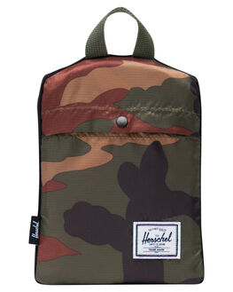 WOODLAND CAMO MENS ACCESSORIES HERSCHEL SUPPLY CO BAGS + BACKPACKS - 10615-01899-OSWDC