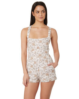 WHITE OUTLET WOMENS TIGERLILY PLAYSUITS + OVERALLS - T395446WHT