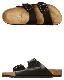 BLACK WOMENS FOOTWEAR LIPSTIK FLATS - 5710LBLK