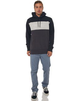 BLACK MENS CLOTHING QUIKSILVER JUMPERS - EQYFT03826KVJ0