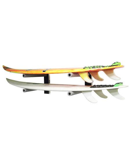 BLACK BOARDSPORTS SURF SOLID RACKS BOARD RACKS - SA-905W
