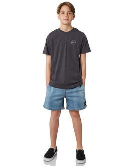 ASPHALT KIDS BOYS BILLABONG TEES - 8581015ASH