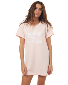 ICEY PINK WOMENS CLOTHING ADIDAS ORIGINALS DRESSES - BP9420IPNK
