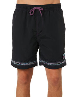 BLACK MENS CLOTHING RIP CURL BOARDSHORTS - CBOAU90090
