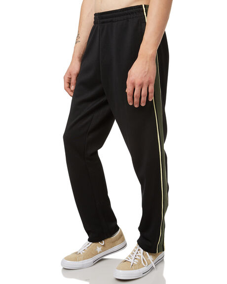 BLACK MENS CLOTHING NO NEWS PANTS - N5174191BLK