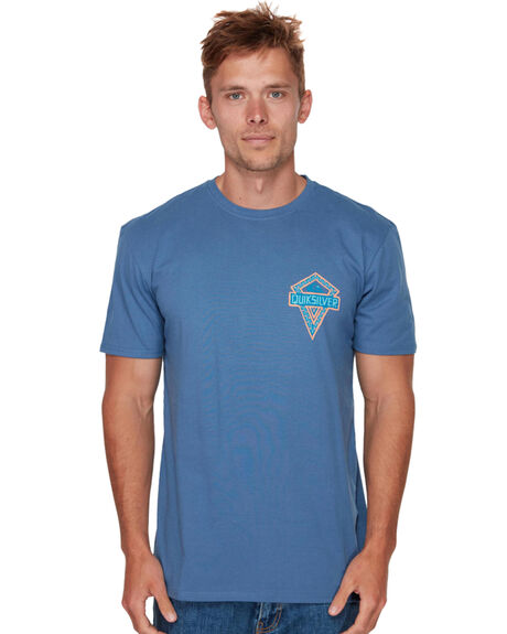 BIJOU BLUE MENS CLOTHING QUIKSILVER TEES - EQYZT05145BNG0