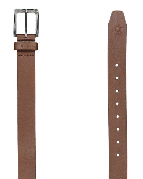 CHOCOLATE MENS ACCESSORIES ELEMENT BELTS - 163721CHOC